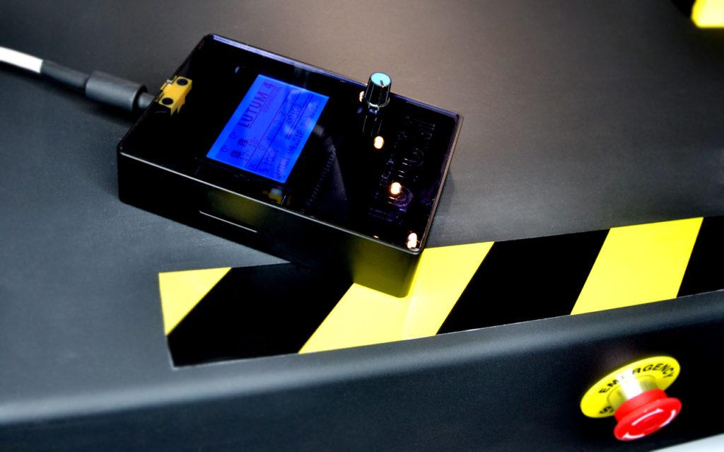 Large control screen